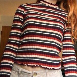 Tops - Cute striped long sleeve shirt!